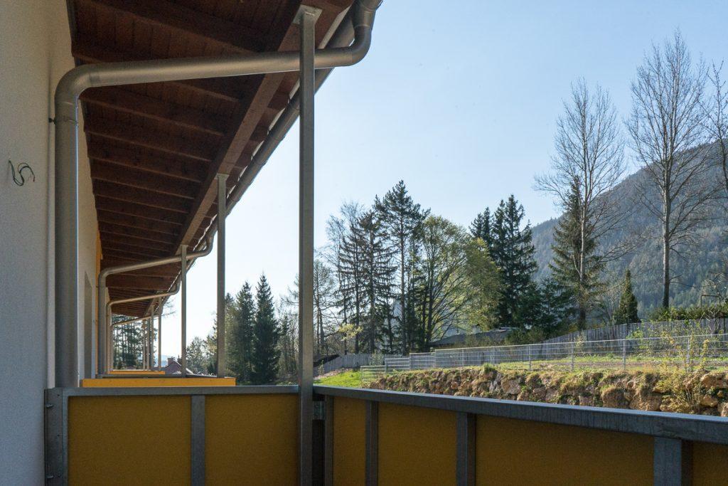 Projekt Grünes Wohnen in Raach Balkonansicht