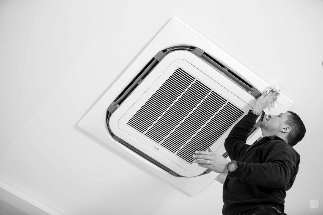 Angenehmes Raumklima mit dem Klimagerät von Daikin Installiert von Heizbär im Fotostudio Annette Pfeiffer 1