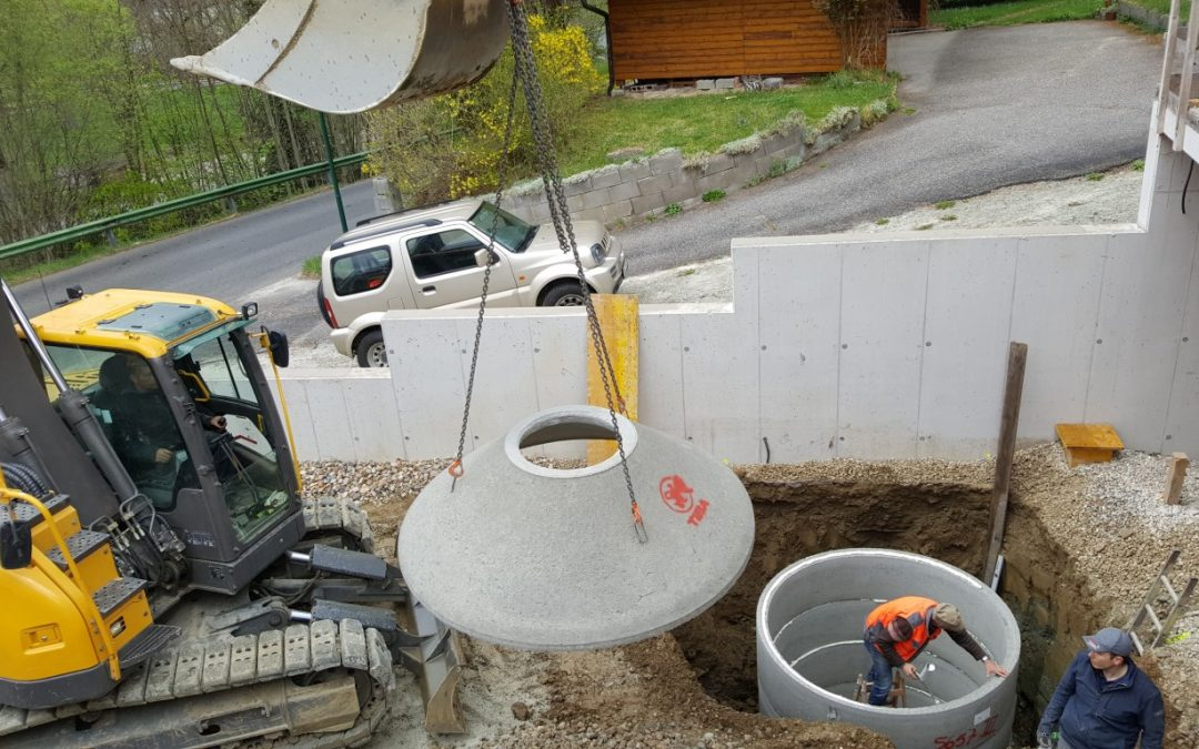 Sickerschacht – Regenwasser nutzen und platzsparend versickern lassen