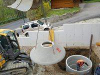 Sickerschacht - Regenwasser nutzen und platzsparend versickern lassen